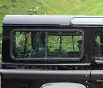 OEM Land Rover Defender 110 2007> Hardtop R/H/R Sliding Window LR044315