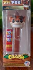 Funko Crash Bandicoot Pop Pez Dispenser New Candy Collectibles