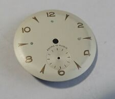WATCHMAKER WATCHMAKING DIAL OF WATCH CURVED GREY DIAMETER 1 1/8in