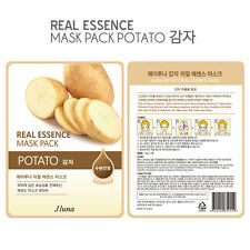 Jluna Korean Cosmetics Fresh Natural Plant Essences Face Mask Pack 1PC Potato