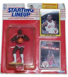 Michael Jordan Starting Lineup 1990 Kenner Rookie Year Collector Card NIB New