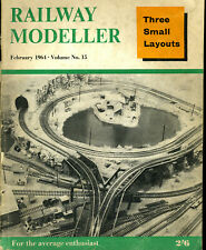 Railway Modeller Feb 1964 LNER Pantograph Car LMS 20 Ton Long Low Thelwall