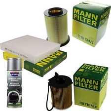 MANN-FILTER Paket + Presto Klima-Reiniger für Ford C-Max DM2