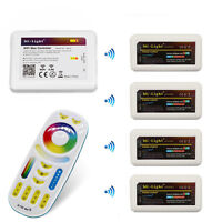 MiLight WiFi Android Phone remote Controller for  RGB CCT RGBW led strip light