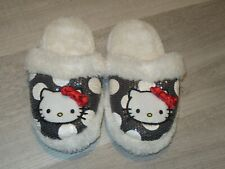 Hello Kitty Girls Soft Plush Sequins Slippers 13/1