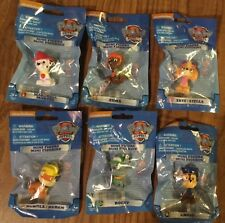 Lot of 6 PAW PATROL SUPER PUPS MINI FIGURES NEW FREE SHIPPING