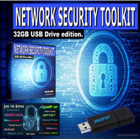 NETWORK SECURITY TOOLKIT - 32GB USB - LIVE HACKING INTERNET CYBER SECURITY  O/S