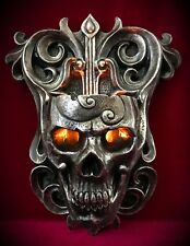 Skull Wall Sconce Candle Holder - Tealight Skulls - Gothic Home Decor