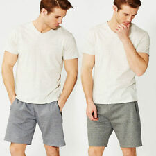 Patternless Casual Men's Shorts