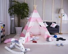 hom Kids Teepee wigwam childrens play tent childs garden or indoor toy 5' Canvas