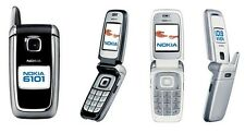 NOKIA 6101b UNLOCKED AT&T ROGERS CHATR+++ MOBILE CELL PHONE CELLULAR GSM SILVER