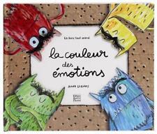la couleur des émotions Antilogus  Maria   Llenas  Anna Neuf Livre