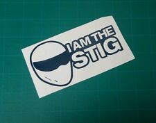 I am the stig Decal stance Car Truck vinyl Sticker JDM racing window illest dope