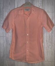 Boys Age 7-8 Years - Zara Short Sleeved Shirt