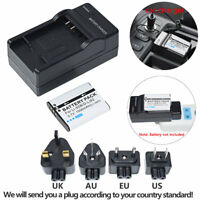 LI-50B Battery + Charger for OLYMPUS Tough Stylus 9000 9010 SW 1020 1030 SW