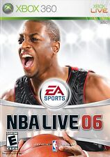 XBOX 360 NBA Live 06 Video Game Multiplayer Online Basketball Tournament 2006