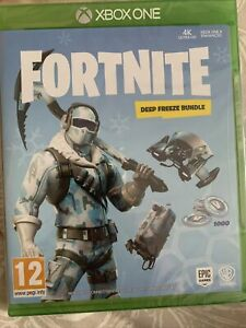 Fortnite Deep Freeze Bundle (Xbox One, 2018) BRAND NEW AND SEALED