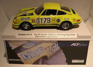 QQ FLY 99081 Porsche 911S 1000KM Nurburgring '70 H+T Motor Racing Lted. Ed