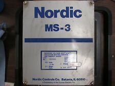 Nordic MS-3 Soft Start 1634600 20HP 35A 460V 3PH Used