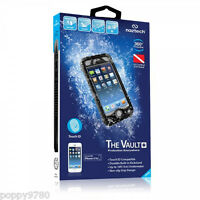 New Naztech Vault+ Waterproof  iPhone 5/5s Hard Case Cover w/ Touch ID - Black