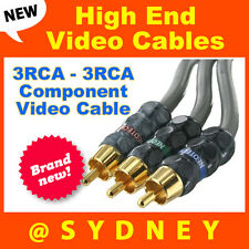 High-end Neotech 1.5m 3RCA - 3RCA Component Video AV Cable - RRP* $124.95