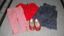 BABY GAP 18-24 2T 09 SHOES DRESS LEGGING TOP LOT