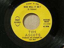 "ASCOTS SO GOOD FRAT orig US G45 GARAGE PUNK 7"" 45 NM"