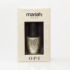 OPI Nail Polish - Mariah Carey Pure 18K White Gold and Silver Top Coat Full Size