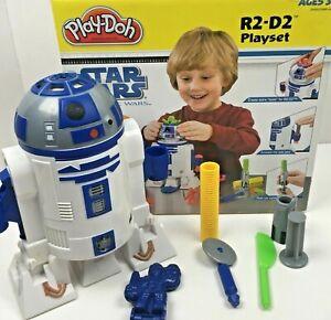 Play-Doh STAR WARS The Clone Wars R2-D2 Playset Hasbro Molds Lightsaber Anakin