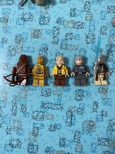 5 lego star wars minifigures,A New Hope, No Cracked Arms Or Torsos. Lot 11