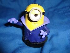 "Minions dress as vampire PVC Figure Snapco cineplex 2.5"" tall"