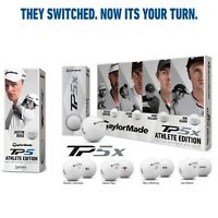 TAYLORMADE TP5x TP5 LIMITED EDITION ATHLETE PACK GOLF BALLS Sleeve / Dozen