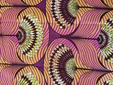 TISSU WAX AFRICAIN  100 %COTON
