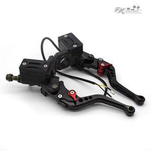 "Universal Motorcycle Hydraulic Brake Clutch Master Cylinder Reservoir Lever 7/8"""