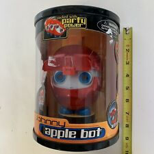 JOHNNY APPLE BOT ROBOT TOY - NEW In Unopened Package
