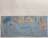 1938 Marromeo Mozambique Company Airmail cover to London England