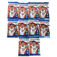 10 X 2020-21 Panini NBA Hoops Basketball Packs and Bonus Rookie Cards
