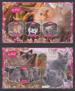 SVVGTA E04 limited 2019-2020 Domestic Animals Cats 2 sheets