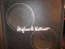 "80's HUGHES & KETTNER CAB - 2 x 12"" - CELESTION ROCKDRIVER  SPEAKERS"