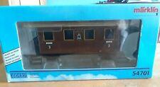Märklin Maxi 54701 Passenger Car - Metal model railroad coach car, original box