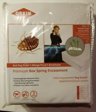 Orkin Brand Premium Box Spring encasement New Full Xl Traps Bed Bugs Dust Mites