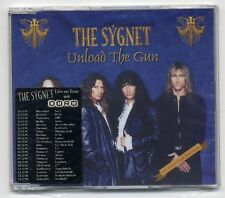 The Sygnet Maxi-CD Unload The Gun - with Live On Tour with DORO sticker - as new