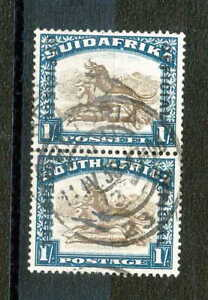 South Africa / Used 1s Official  Stamps from 1930-1947
