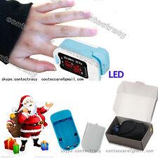 New LED Finger Pulse Oximeter Blood Oxygen Saturation Monitor SPO2 PR CE CMS50M