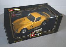 Burago 1/18 Ferrari 250 GTO (1962) Rot - 3011 - Die-Cast Modell Auto NEU OVP