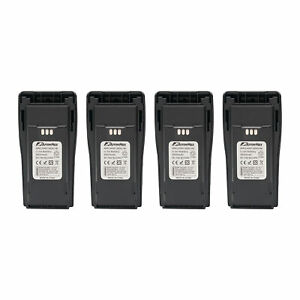 4 ps Premium 2500mAh Li-ion Walkie Talkie Replacement Battery for Motorola CP200
