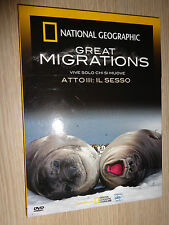 DVD N°3 NATIONAL GEOGRAPHIC GREAT MIGRATIONS VIVRE SEULEMENT CHI SI DÉPLACE LE
