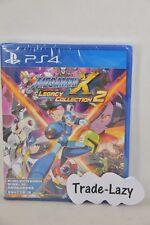 NEW PS4 Rockman Megaman Mega Man Rock Man X Legacy Collection 2 (HK) + Table