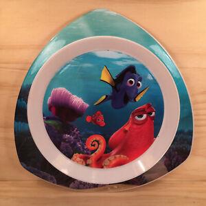 "FINDING DORY ""Sea Blue"" Beautiful Children's Food Plate Plastic Dinner Dish"