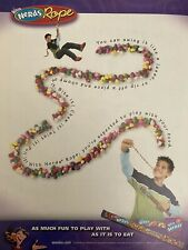 Taylor Lautner RARE NERDS Rope Ad Magazine Clipping YOUNG